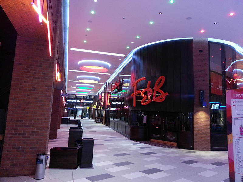 Restaurants at London Designer Outlet
